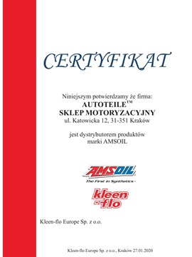AMSOIL 5W40 EUROPEAN CAR FORMULA AFL 0,946L