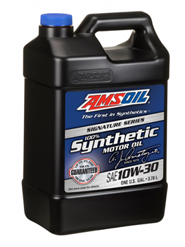 AMSOIL 10W30 Signature Series 100% Synthetic Motor Oil ATM 3.784L